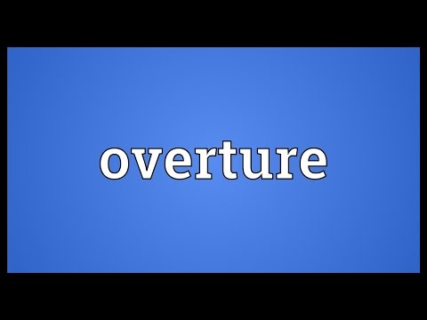 Overture Meaning