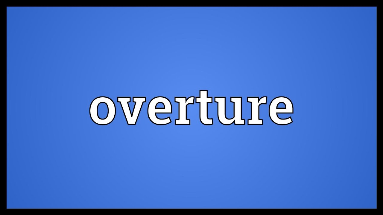 overture music definition