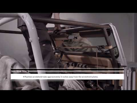 Trail-Gear Tech: Rock Defense™ Jeep YJ Roll Cage Install