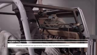 Trail-Gear Tech: Rock Defense™ Jeep YJ Roll Cage Install