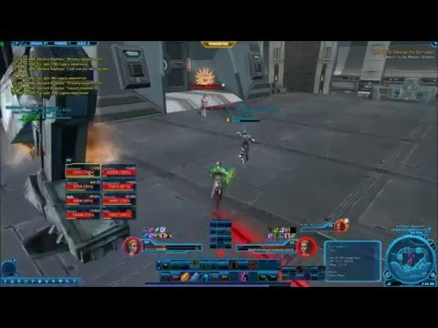 SWTOR-Hardmode Explosive Conflict Operation 8m - Warlord Kephess