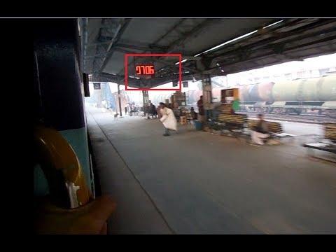 Extreme madness!!! Shivganga express running 30 min BT ,skipping Sahibabad