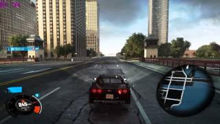 The Crew Gameplay - 1440p (2560 x 1440) - Chicago City - Chevrolet Corvette ZR1 + MSI Afterburner