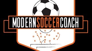 Modern Soccer Coach - Pressing Workbook: Wide Forwards
