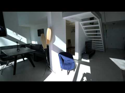 Furnished Design Loft with Terrace and Garden for Rent in Berlin Mitte