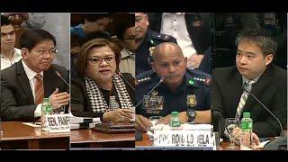 4 Joel Villanueva Very Thankful Leila De Lima Grills General Bato Lacson Defended PNP Chief