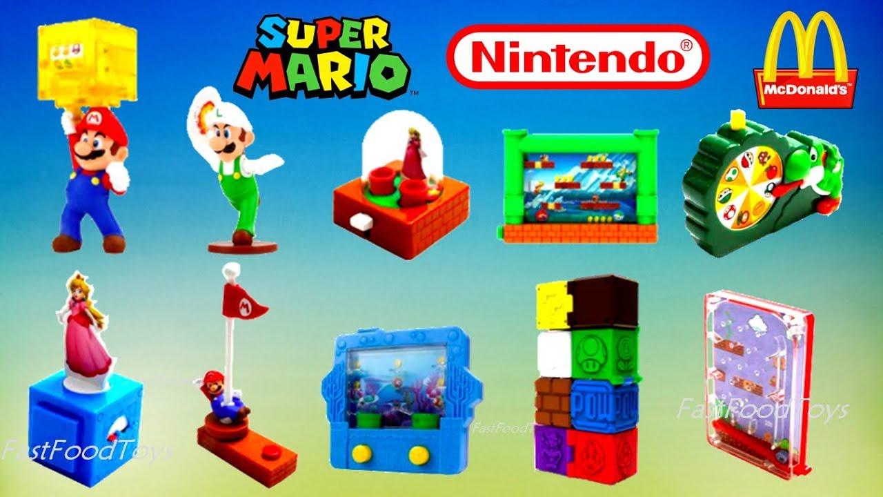 2018 Mcdonald S Super Mario Happy Meal Toys Full Set 10