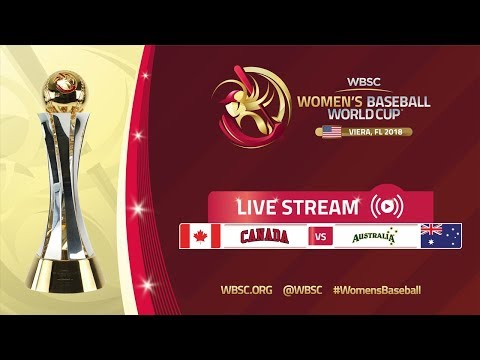 Canada v Australia - Women's Baseball World Cup 2018