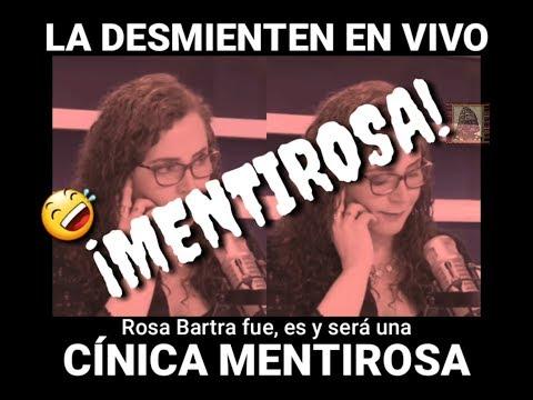 Rosa Bartra fue desmentida en vivo por periodistas de RPP.