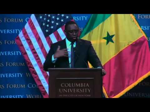 World Leaders Forum: Macky Sall, President of the Republic of Senegal