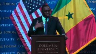 Repeat youtube video World Leaders Forum: Macky Sall, President of the Republic of Senegal