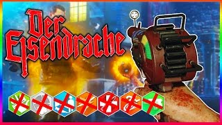 """DER EISENDRACHE"" NO PERK EASTER EGG ATTEMPT! ~ (BO3 Zombies Gameplay)"