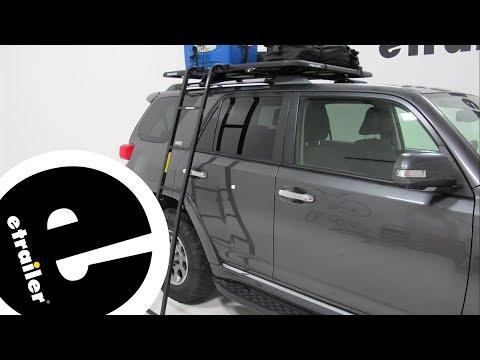 Etrailer | Rhino-Rack Pioneer Platform Rack Folding Ladder Review