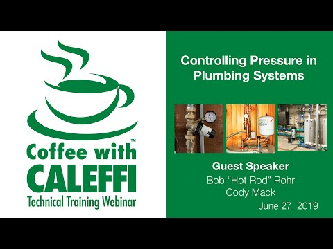 Controlling Pressure In Plumbing Systems