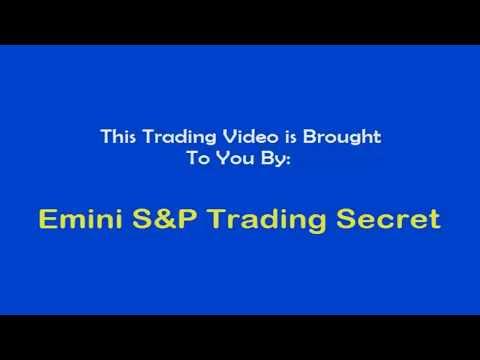 Emini S&P Trading Secret Code Signals Instruction Video