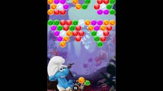 Smurfs Bubble Story Level 107 - NO BOOSTERS