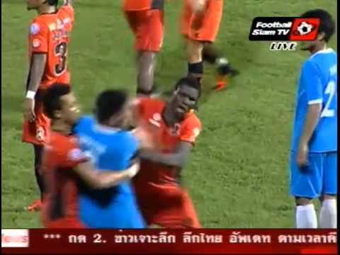 วุ่นวายท้ายเกมส์ ลีก คัพ รอบรองชนะเลิศ ทีโอที   ราชบุรี
