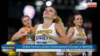 Dobre humory przed mistrzostwami Europy w Berlinie