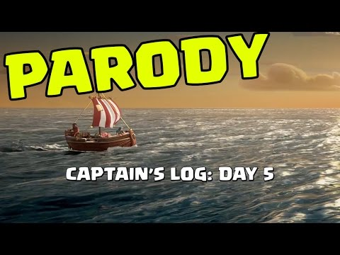 Thumbnail: Clash of Clans PARODY: Captain's Log Day 5 - Arrival