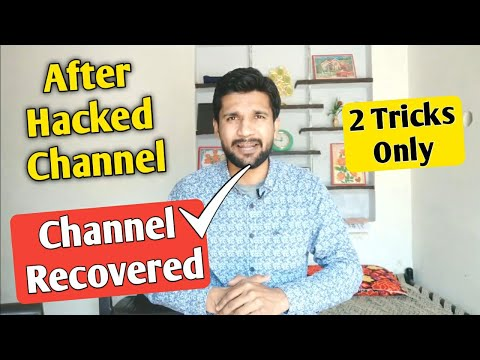 Hacked Channel Recovered
