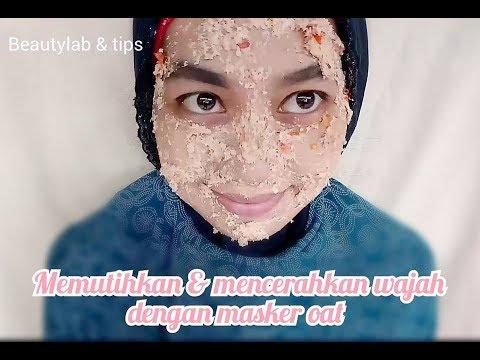 Cara Memutihkan Dan Mencerahkan Wajah Dengan Scrub Masker Oat Ii Diy