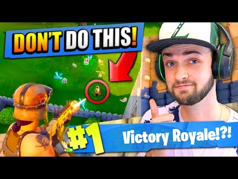 How to improve at Fortnite Battle Royale
