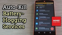 Auto-Kill Background Services on Android [How-To]