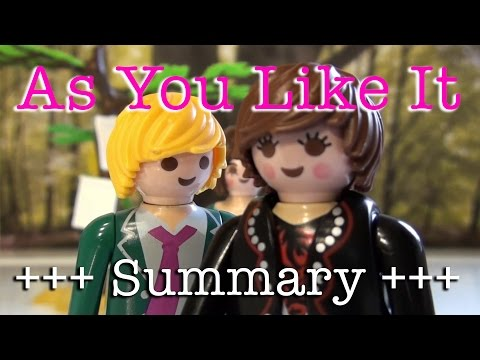 As You Like It to go (Shakespeare in 9 minutes)