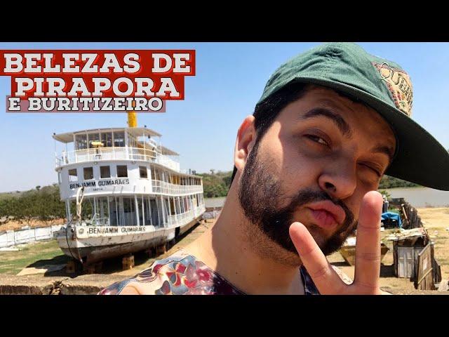 O MELHOR DE PIRAPORA parte 2   Buritizeiro, arroz com pequi, banho no Rio São Francisco e mais