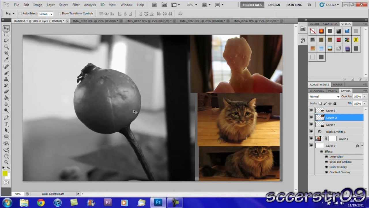 Basic photo editing in adobe photoshop cs5 cs6 cc tutorial for.