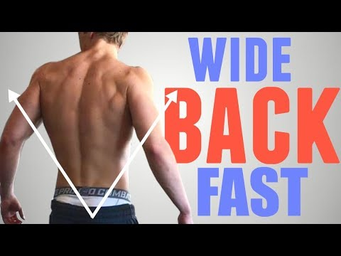 3 Exercises to Get a WIDE