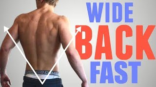 """3 Exercises to Get a WIDE """"V-Taper"""" Back FAST"""