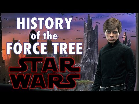 HISTORY OF THE FORCE SENSITIVE TREE! CANON!
