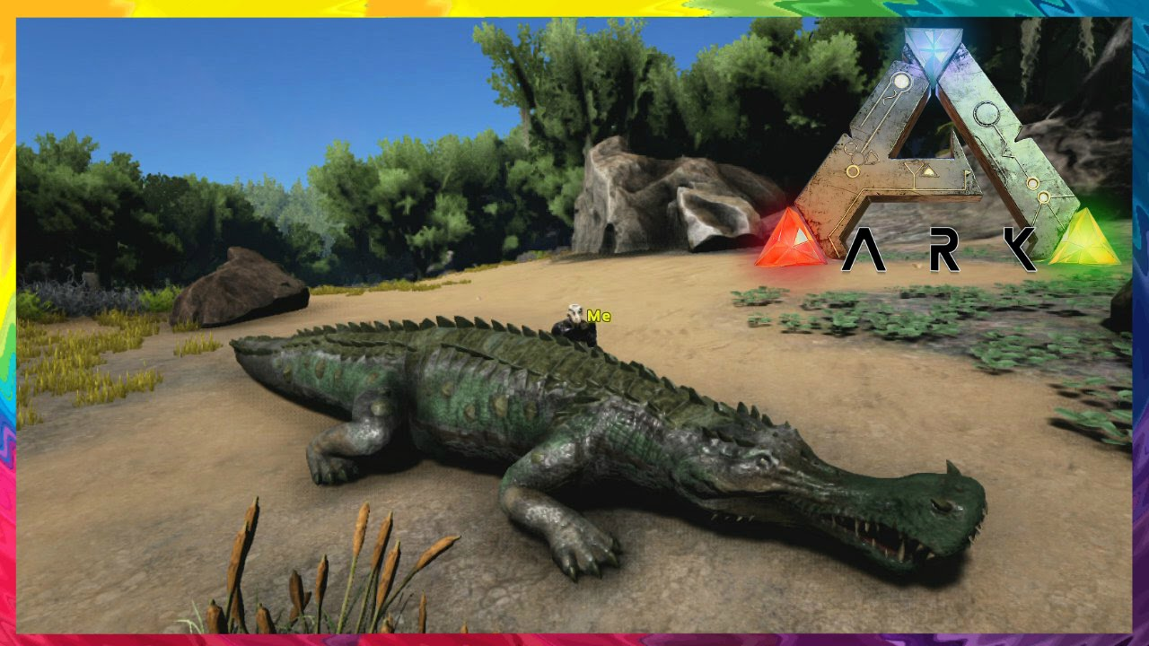ark survival evolved xbox taming a sarco 9 youtube