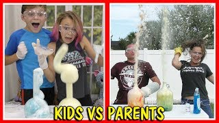 ELEPHANT TOOTHPASTE | KIDS VS PARENTS | We Are The Davises