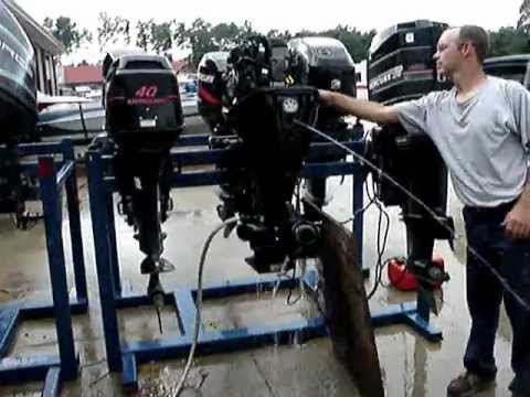 2008 MERCURY 40 HP JET DRIVE OUTBOARD