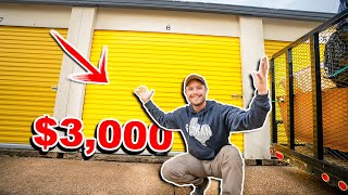 I Bought An ABANDONED Storage Unit - Whats Inside?