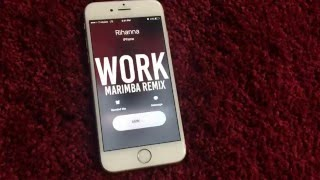 Enjoy marimba remix of work (by rihanna). download now! ________________________________________________ this ringtone: http://smarturl.it/workmd do...