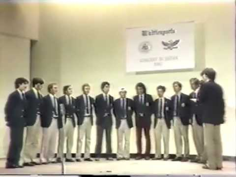Yale Whiffenpoofs of 1982 Concert in Japan, Part 1 of 7