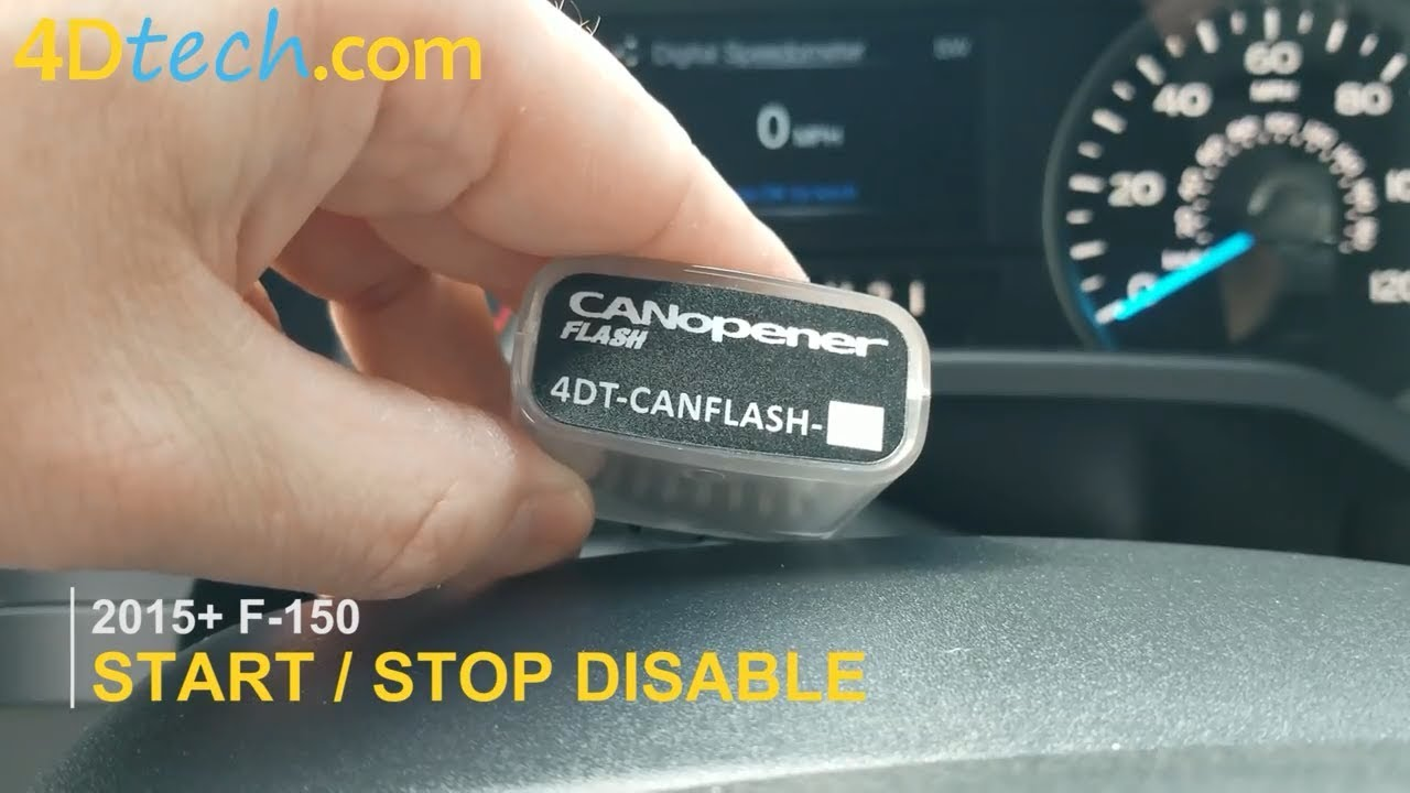 Ford F150 Disable Auto Start Stop Feature Toggle On And Off Permanently