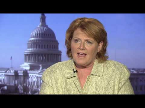 North Dakota Senator Heidi Heitkamp Slams Trump