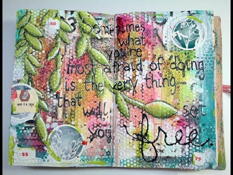 Art Spark Wednesday! Art Journaling