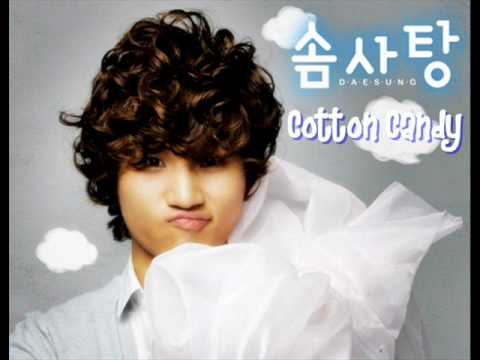 [MP3 + DL] Daesung - Cotton Candy