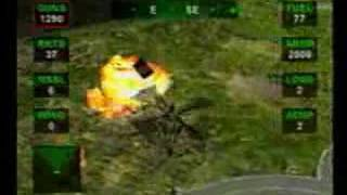 Nuclear strike (Final Stage) -Playstation-
