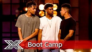 5 AM perform David Guetta's Without You!  | Boot Camp | The X Factor UK 2016