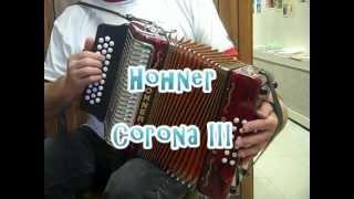 Hohner Corona III Diatonic Accordion