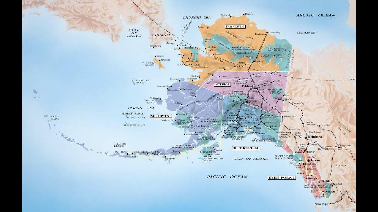 ABD'nin En Büyük Eyaleti Alaska