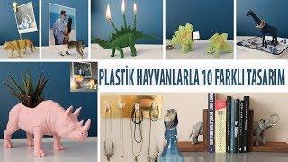 10 Oda Dekorasyon Fİkİrlerİ | Diy | Plastİk Oyuncaklarla