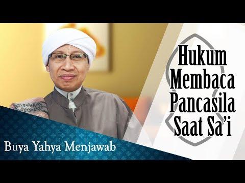 Hukum Membaca Pancasila Saat Sai - Buya Yahya Menjawab