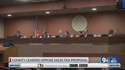 El Paso County leaders disapprove sales and property tax swap